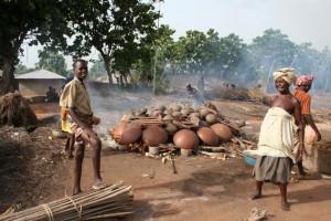 Village de Sé - poteries